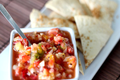 How To Make Apple Berry Salsa With Cinnamon Tortilla Chips