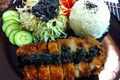 How To Make Chicken Katsu And Black Sesame Dressing
