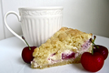 Cream Cheese Cherry Coffee Cake