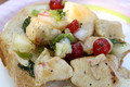 How To Make Chicken Salad With Dried Cranberries, Almonds & Apples