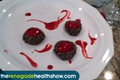 How To Make Almond And Date Cookies With Raspberry Sauce