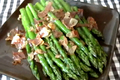 How To Make Sauteed Asparagus  Ham, Garlic And Lemon