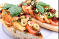 Vegan Italian Open Sandwich