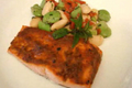 How To Make Romesco Sauce Glazed Broiled Salmon