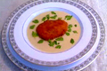 How To Make Cream Of Cauliflower Soup With Fried Oysters And Chervil