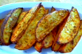 How To Make Crispy Skinned Herbed Potato Wedges