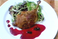 Roast Duck Montmorency
