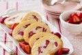 Strawberries & Cream Cake Roll