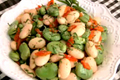 How To Make Italian Style Fava And Butter Bean Salad With Mint Citronette
