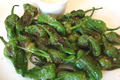 How To Make Quick Stir-fried Spanish Padrones Peppers