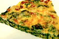Bacon, Swiss Chard and Potato Frittata
