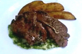 Worcestershire Buttered Lamb Chops