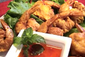 How To Make Thai Crispy Deep Fried Shrimps