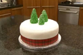 How To Make How To Decorate A Christmas Cake