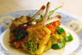How To Make Grilled Lamb Cutlets With Colorful Veggies
