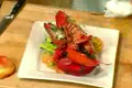 Grilled Lobster Asparagus and Tomatoes