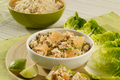 How To Make Minced Chicken Salad With Coriander, Lemongrass And Pink Grapefruit