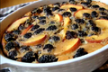 How To Make Peach And Blackberry Flognarde With Thyme And Black Pepper