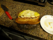 How To Make Breakfast Sausage Egg Baguette