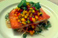 How To Make Seared Salmon With Fresh Mango Relish