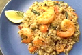 How To Make Grilled Shrimp And Vegetables With Pearl Couscous