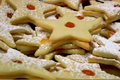 Jam Filled Star Butter Cookies