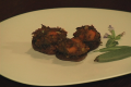 About Mushroom Pops Served With Squash Video