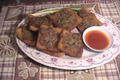 How To Make Thai Deep Fried Bread with Pork