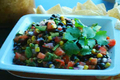 How To Make Corn And Bean Salsa