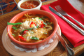 Cheese & Peppers Tortilla Soup