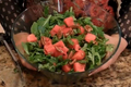 How To Make Melon And Arugula Salad
