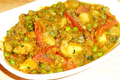 How To Make Aloo Mattar Curry
