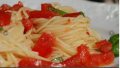 Angel Hair Pasta with Fresh Tomato Sauce
