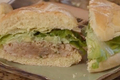 Asian-style Fresh Tuna Burger
