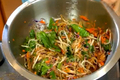 Asian-style Raw Vegan Noodle Salad