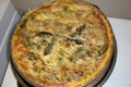 Asparagus Quiche