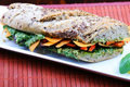 How To Make Attila Hildmann Kocht - Super Easy Baguette Mit Pesto, Räuchertofu, Rucola, Paprika Und Möhren