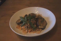 How To Make Aubergine Nut Tagliatelle