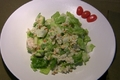 Avocado Pine Nut Salad with Rice