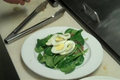 Bacon Spinach and Egg Salad