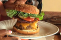 How To Make Super Bowl Recipes: Stuffed Bacon Cheddar Burgers & Baked Ginger Sesame Wings (cooking With Carolyn)