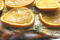Baked Trout with Orange and Herb