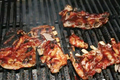 How To Make Barbecued Pork Spareribs With Couscous Crouton Salad