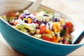 How To Make Summer Bean and Vegetable Salad