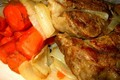 Beef Steak Casserole With Dumpling Top