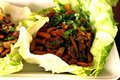 How To Make Hoisin Marinated Beef Lettuce Wraps
