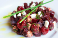 How To Make Beetroot, Feta And Raspberry Salad