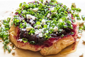 How To Make Beetroot And Feta Cheese Tarte Tatin