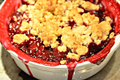 How To Make Mixed Berry Plum Crisp