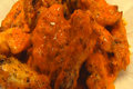 Betty's Chicken Wings With Hot Wing Sauce --super Bowl!